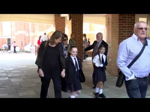 Showing off the Perth College Junior School
