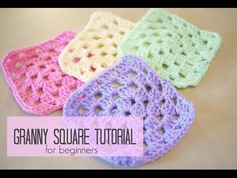 Crochet How To Crochet Granny Square For Beginners
