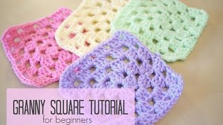 CROCHET: How to ¢rochet a granny square for beginners | Bella Coco