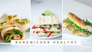 Sandwich healthy – 3 recettes à tester !