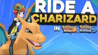 RIDE A CHARIZARD IN POKEMON SUN AND MOON?! | Pokemon Sun and Moon Alola Form Trailer Reaction