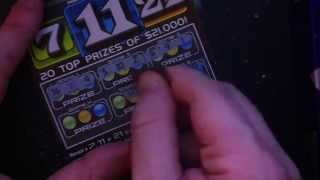 PA Lottery 7-11-21 $2 Tickets ***$10 Challenge*** ***Nice Win***