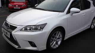USED LEXUS CT 1.8 200H LUXURY 5d AUTO 134 BHP