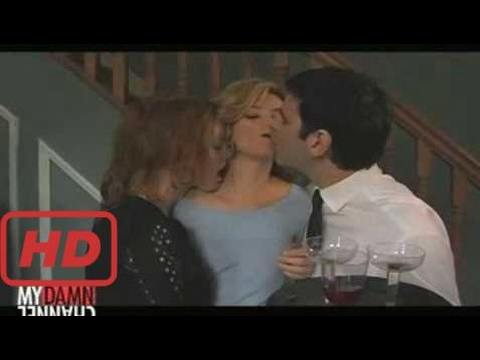 [julianne hough] Alicia Witt kisses Elizabeth Banks- Wainy Days