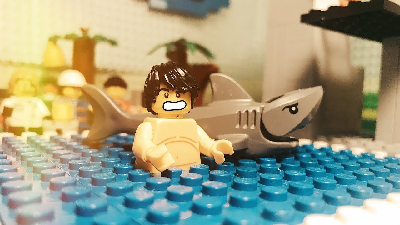Swimming pool fail at Lego Movie 2