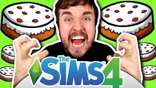 O BOLO É UMA MENTIRA! - The Sims 4 (Parte 11)
