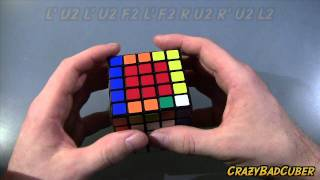 how to solve a 5x5 rubiks cube advanced edge pairing part 2
