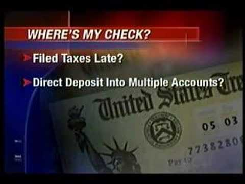Where's my stimulus check?
