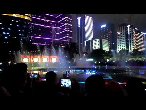 Fountain Dance at Haixinsha