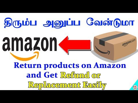 How To Return Products On Amazon And Get Refund Or Replacement Easily | Tamil Server Tech