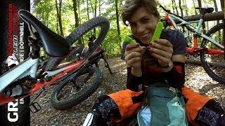 FUCHSTRAIL | Sattelschraube auf dem Trail verloren | BIG #dabeitrage mit Hanna | Leo Kast UMLK #117