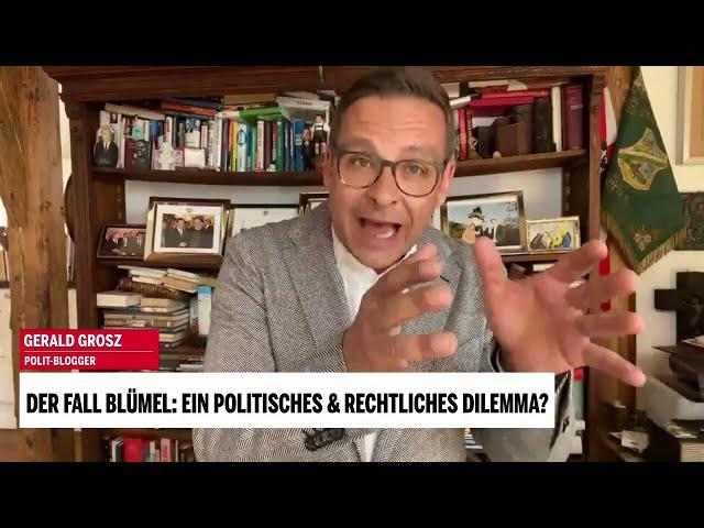 Wie man schweigsam und stumm zum Umfragekaiser mutiert - Gerald Grosz im Live Interview mit oe24.tv