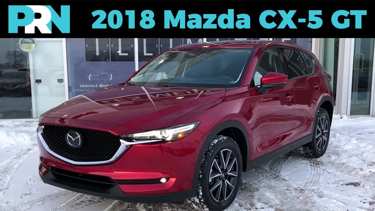 Whats New For 2018 2018 Mazda Cx 5 Gt Tech Testdrive Snapshot