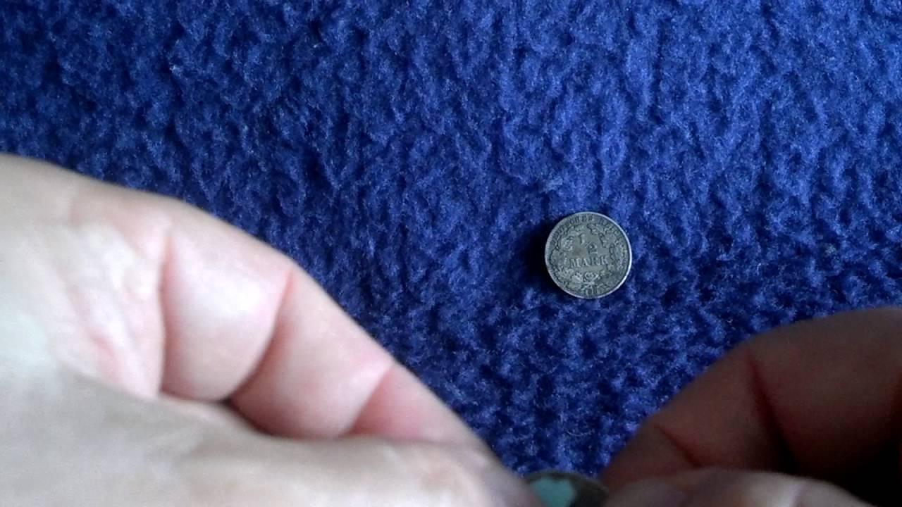 Silber Alte Kursmünzen Reinigen Oder Nicht Youtube