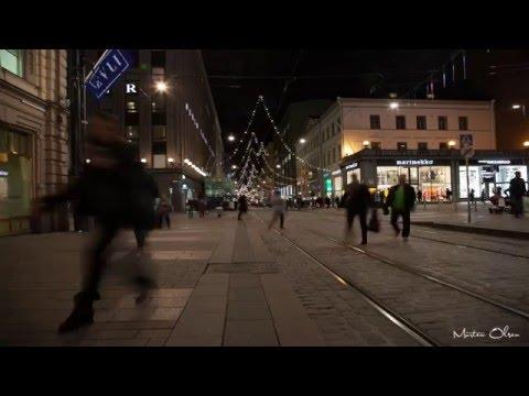 Helsinki During the Christmas season 2015 (4K UHD)