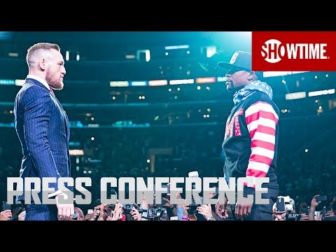 Mayweather vs. McGregor: Los Angeles Press Conference | Sat.