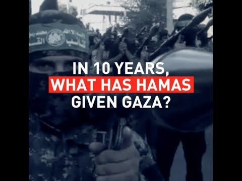 In 10 years, what has Hamas given Gaza?