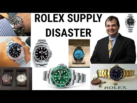 ROLEX STEEL SPORTS WATCH STOCK PROBLEMS - Asia Pacific Region