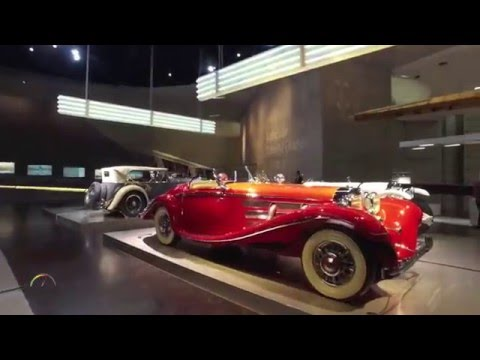 Mercedes-Benz Museum, Stuttgart - Times of Change Exhibit