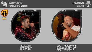 IWO vs Q-KEY  WBW 2018  Finał Północ (A) Freestyle Battle