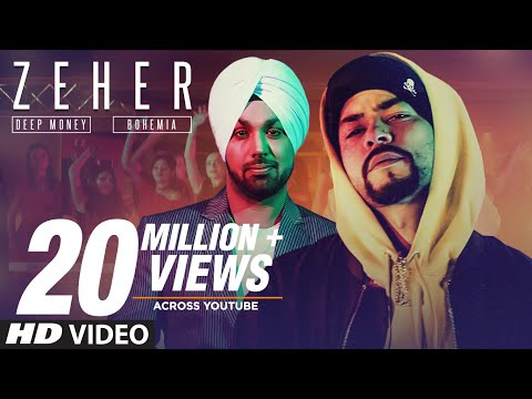 Zeher Full Video Song - Deep Money Feat Bohemia | Zeher Mp3 Song