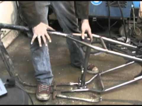 Weld-On Frame Hardtail,for Harley Davidson,by V-Twin