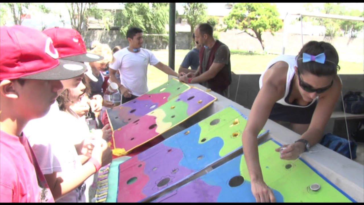 Un Dia De Kermesse En San Isidro Para Chicos Con Discapacidades