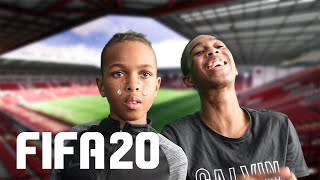Tekkerz kid is SALTY!! First FIFA 20 Full Gameplay