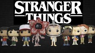STRANGER THINGS Funko Pop Review FULL SET