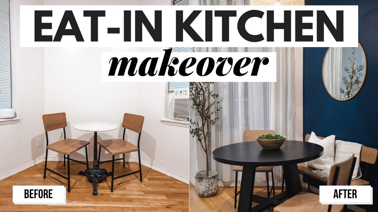 Small Eat-in Kitchen Makeover: Start to Finish- Dana Berez