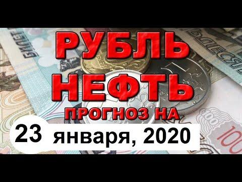 ДОЛЛАР / НЕФТЬ / ОБЗОР АКТУАЛЬНОЙ ИНФОРМАЦИИ от 23 января 2020