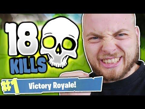 18 KILL GAME!! - FORTNITE BATTLE ROYALE!! thumbnail