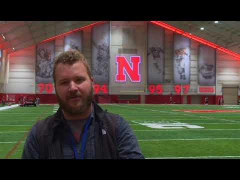 Husker Extra: Nebraska's first spring football practice