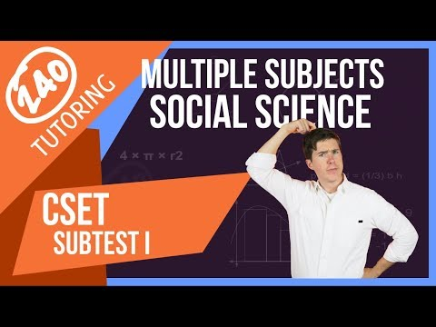 CSET Multiple Subjects: 50 Free Practice Questions (+ Video)