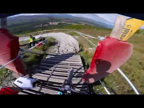 Gee Atherton - GoPro - from practice in Fort William