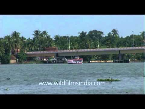 Goshree bridge over Vembanad lake