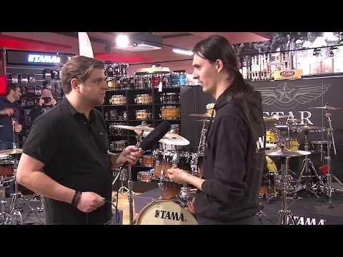 Tama Superstar Classic Drum Set | DRUM NEWS 2018