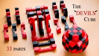 The Devils Cube - 33 part puzzle challenge