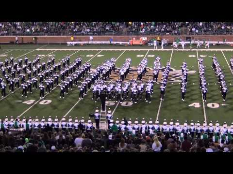 Ohio University Marching 110 - Tribute to Bruno Mars - HD - 9/12/2015