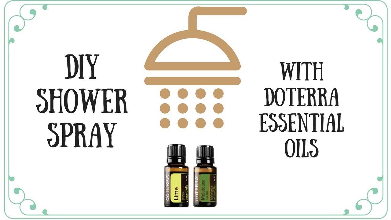Doterra bathroom cleaner - Diy Doterra Shower Spray