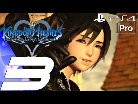 Kingdom Hearts Dream Drop Distance HD - Gameplay Walkthrough Part 3 - The Grid (PS4 PRO)