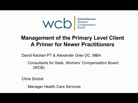 Essentials to WCB Case Management