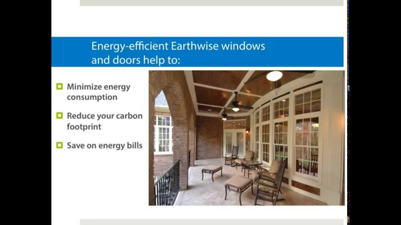 Energy efficient windows doors youtube - The basics about energy efficient windows ...
