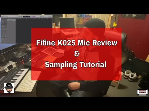 Fifine K025 Honest Mic Review And Beat Making Tutorial (Sampling Techniques)