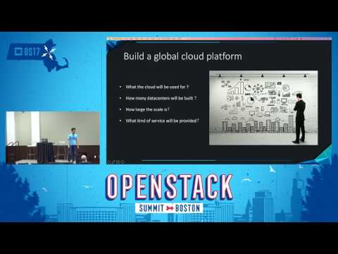 China National Offshore Cloud Platform- Large Scale OpenStac