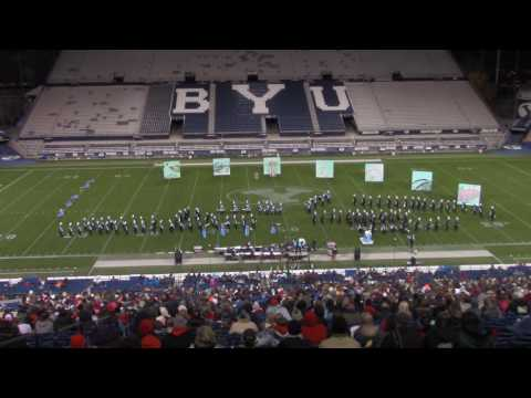 Sky View High School Marching Band BYU 10/18/2016