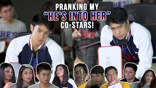 PRANKING THE HE'S INTO HER CAST | Donny Pangilinan