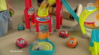 Avtomobilska steza za otroke Mega Jump Vroom Plane