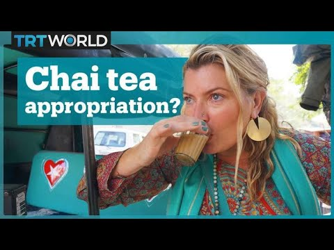 An American lady made $35 million dollars off of Indian chai