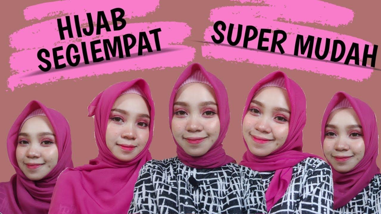 Tutorial Hijab Segi Empat Simple Untuk Orang Berkacamata